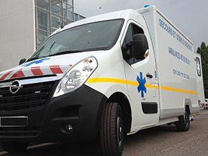 des ambulances récentes, conformes aux normes européennes (NF EN 1789)